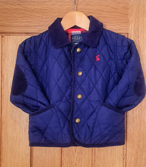 Joules Quilted Jacket age 18-24mths