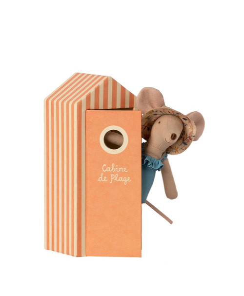 Cabin de Plage in pink for Mother mouse for the beach vacation collection