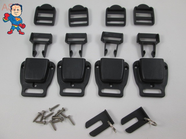 Spa Hot Tub Cover 4 Latch Strap Repair Kit Key Catalina Cal Spa Video How To
