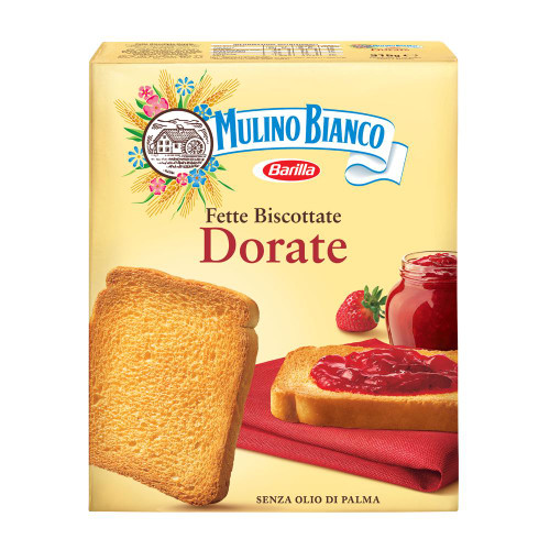Buy Mulino Bianco Fette Biscottate Dorate 315g at La Dispensa