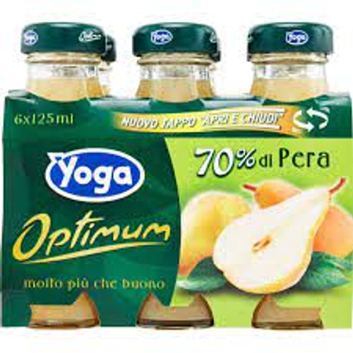 Buy Yoga Pear Nectar 6x125ML at La Dispensa