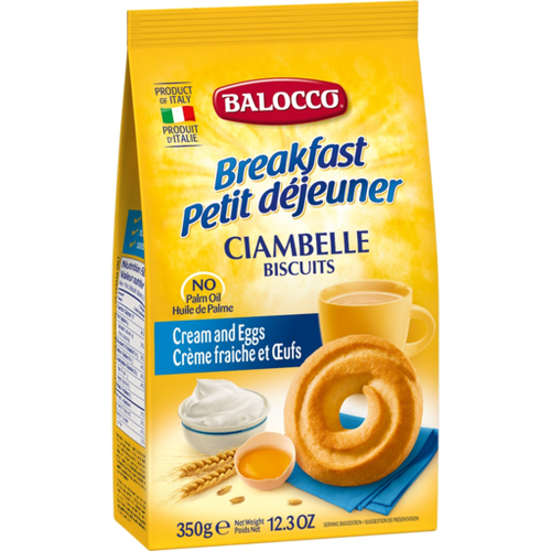 Buy Balocco  Ciambelle Biscuits 350g at La Dispensa