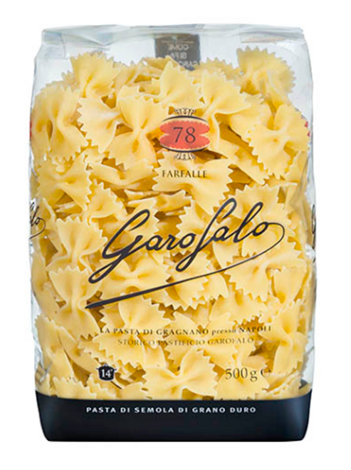 Buy Garofalo Farfalle N.78 500g at La Dispensa