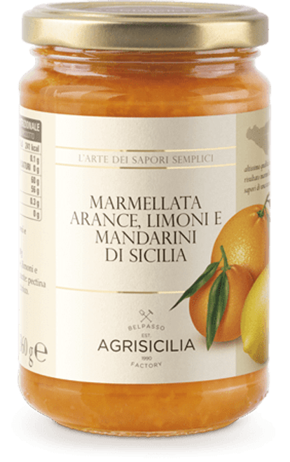 Buy Agrisicilia Citrus Marmalade at La Dispensa