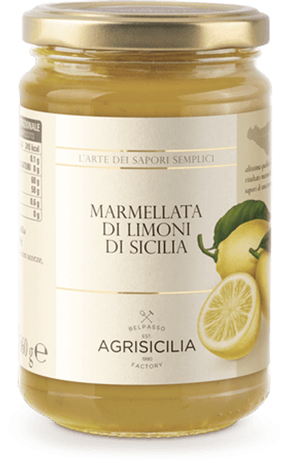 Buy Agrisicilia Sicilian Lemon Marmalade at La Dispensa