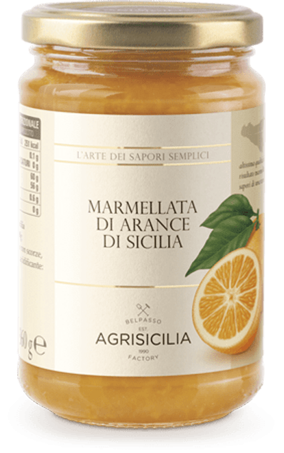 Buy Agrisicilia Sicilian Orange Marmalade at La Dispensa