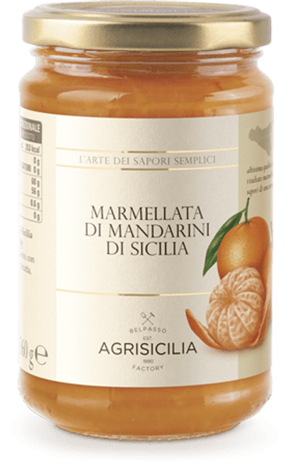 Buy Agrisicilia Sicilian Mandarin Marmalade at La Dispensa