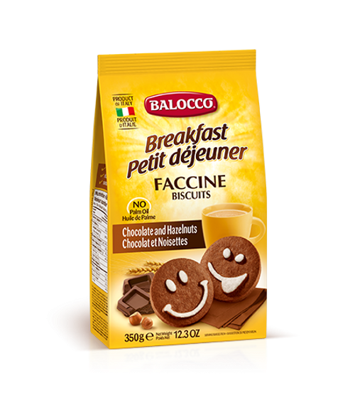 Buy Balocco  Faccine Biscuits 350g at La Dispensa