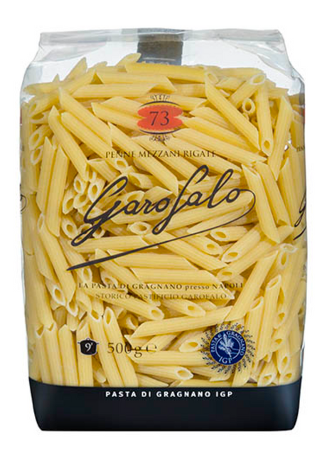 Buy Garofalo Penne Mezzani Rigate N.73 500g at La Dispensa