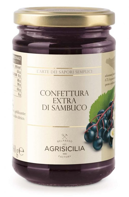 Buy Agrisicilia Elderberry Jam at La Dispensa