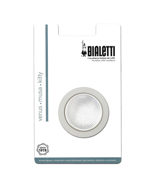 Buy Bialetti Stainless Steel Seal & Filter 2 Cups at La Dispensa