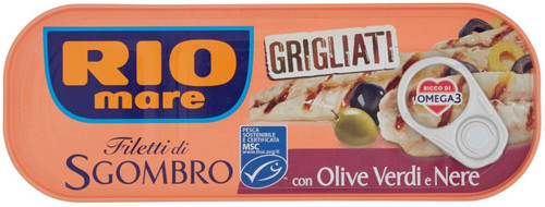 Buy Rio Mare Grilled Mackerel with Olives 120g at La Dispensa