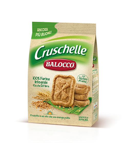 Buy Balocco Cruschelle Whole wheat Biscuits 350g at La Dispensa