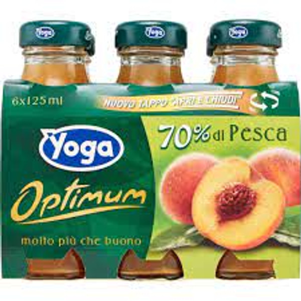 Buy Yoga Peach Nectar 6x125ML at La Dispensa