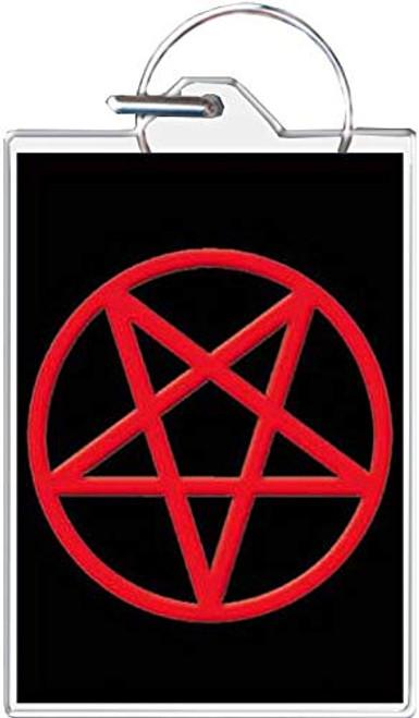 Pentagram Keychain