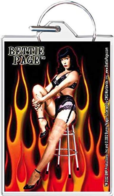 Bettie Page - Hot Keychain