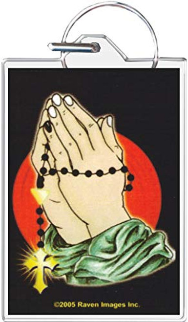 Praying Hands Keychain