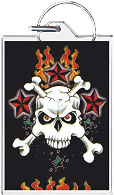 Skull & Crossbones Keychain