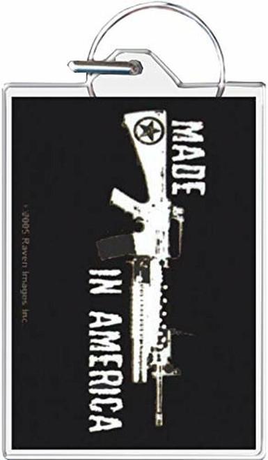 Made in America - Machine Gun Keychain