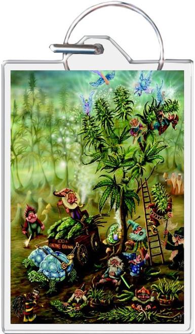 Gnome Grown - Mike Dubois Keychain