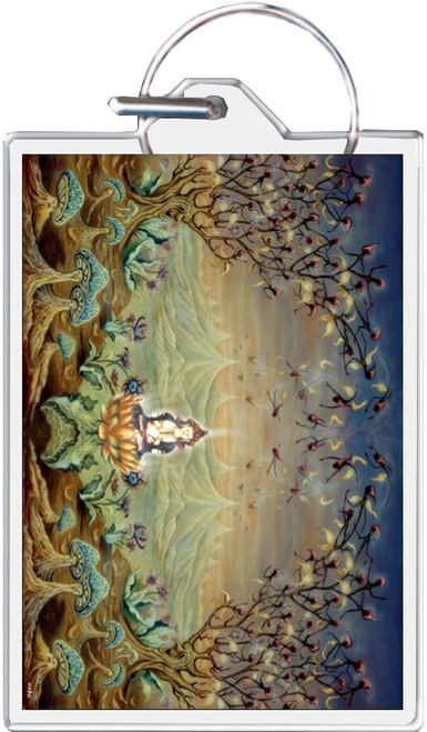 Enlightenment - Mike Dubois Keychain