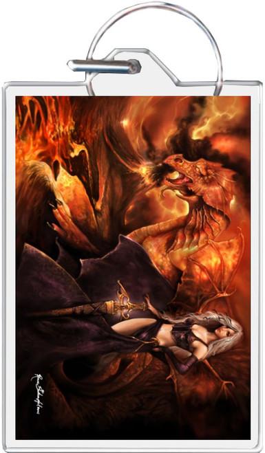 Dragon's Keeper - Rene Biertempfel Keychain