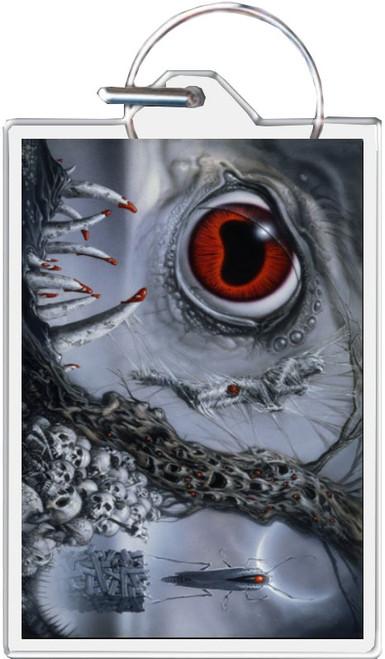 Lovecraft's Nightmare B - Michael Whelan Keychain