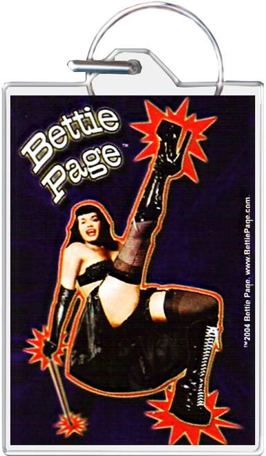 Bettie Page - Dance Keychain
