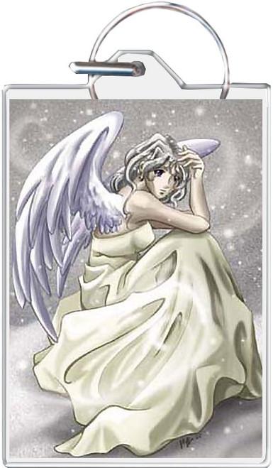 Snow Angel Keychain