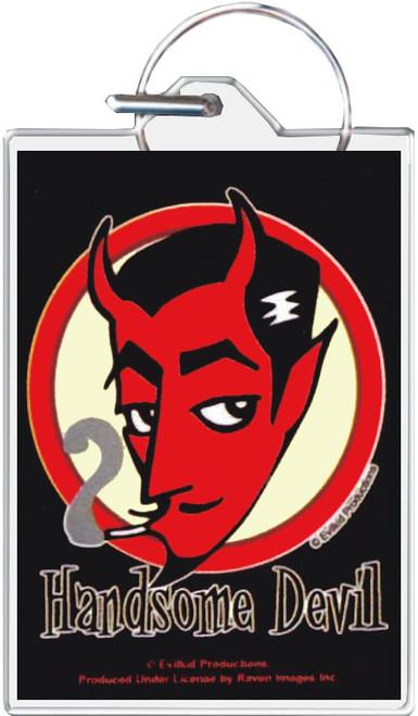 Handsome Devil Keychain