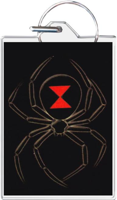 Black Widow Keychain