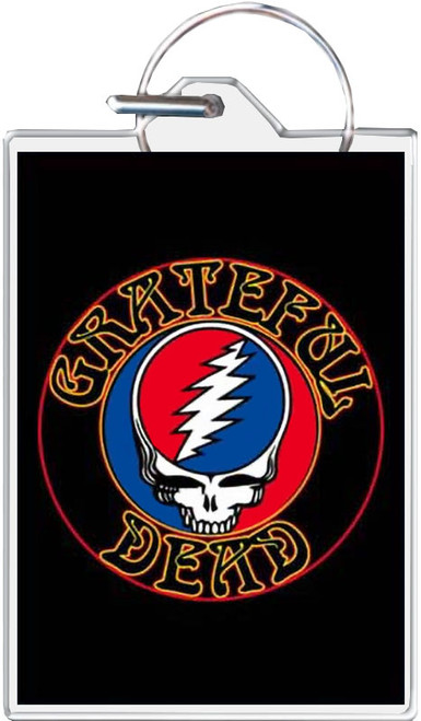Grateful Dead - Steal Your Face Keychain