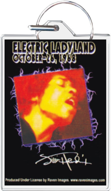 Jimi Hendrix - Electric Ladyland Keychain