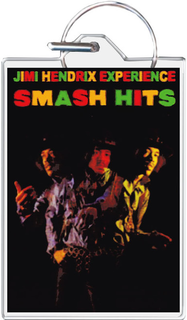 Jimi Hendrix - Smash Hits Keychain