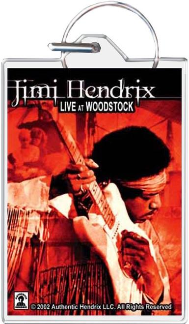 Jimi Hendrix Woodstock Keychain