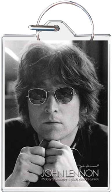 John Lennon Legend Keychain