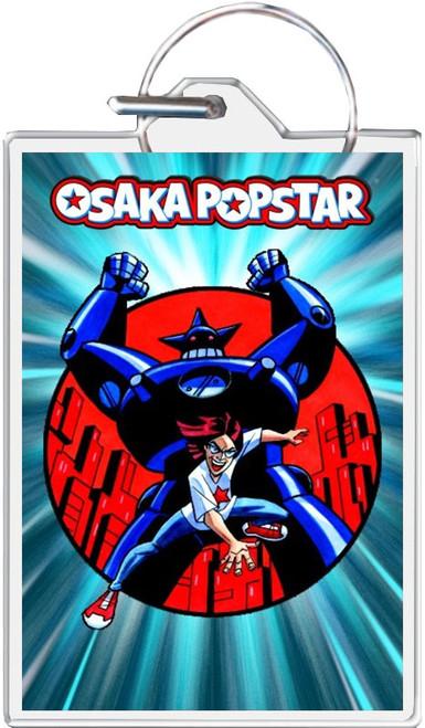 Osaka Popstar - Robot Keychain