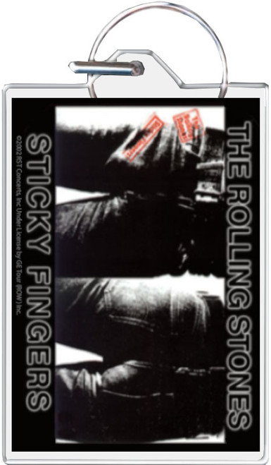 Rolling Stones - Sticky Fingers Keychain