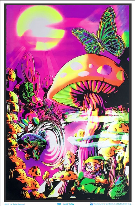 Product Image for Magic Valley Black Light Poster