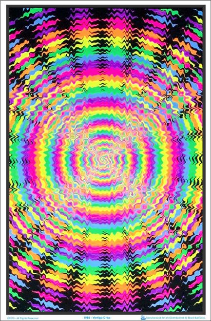 Product Image for Vertigo Drop Black Light Poster