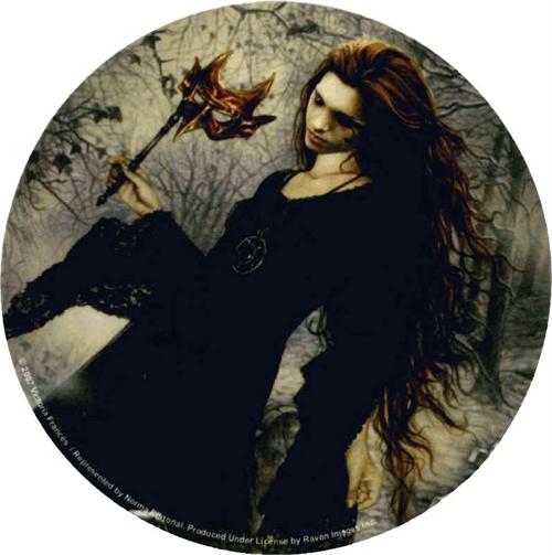 """Victoria Frances - Diabulus  Round Sticker - 2 1/2"""" Round"""