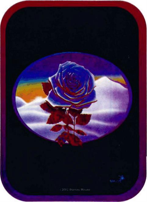 """Rose - Mini Sticker - 2"""" X 2 3/4"""""""