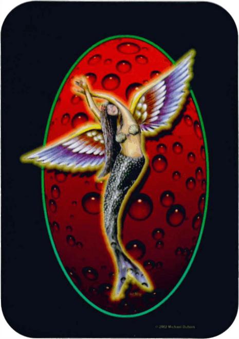 "Sea Angel Sticker - 2 1/2"" X 3 3/4"""
