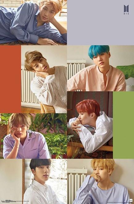 BTS (Bangtan Boys) - Group Poster Image
