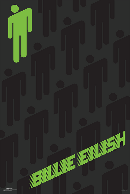 Billie Eilish - Blohsh - Officially Licensed Poster Image