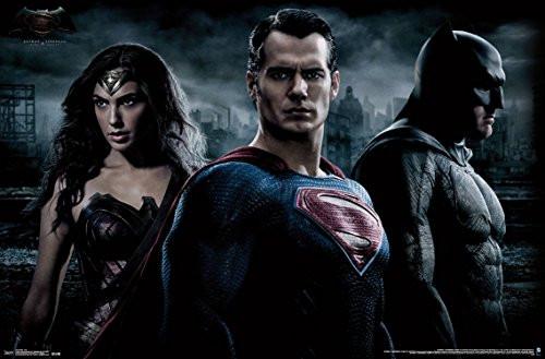 """Batman vs Superman Trio Wall Poster 22.375"""" x 34"""""""