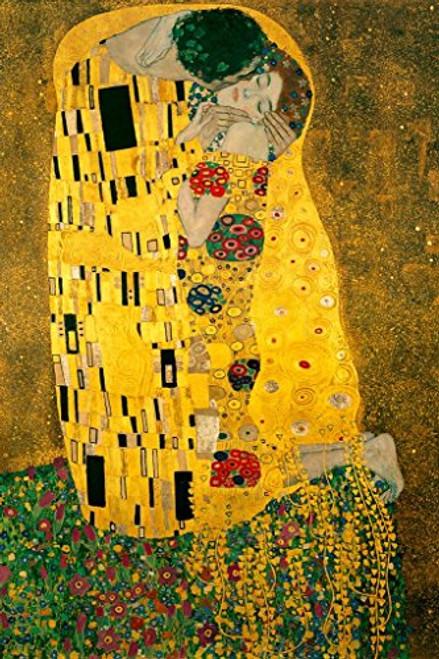 Gustav Klimt The Kiss 1908 Art Print Poster 24x36