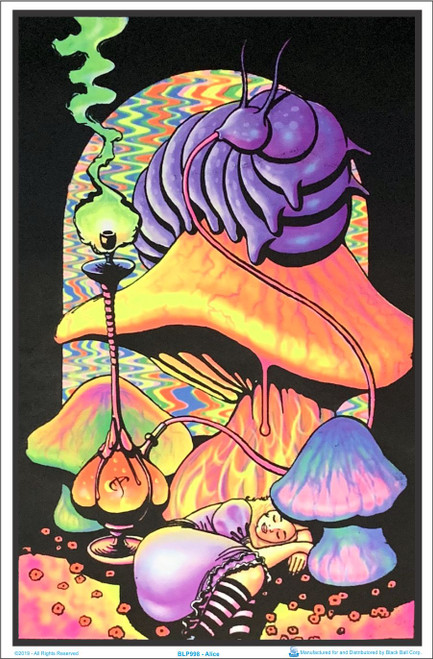 Product Image for Alice Black Light Poster