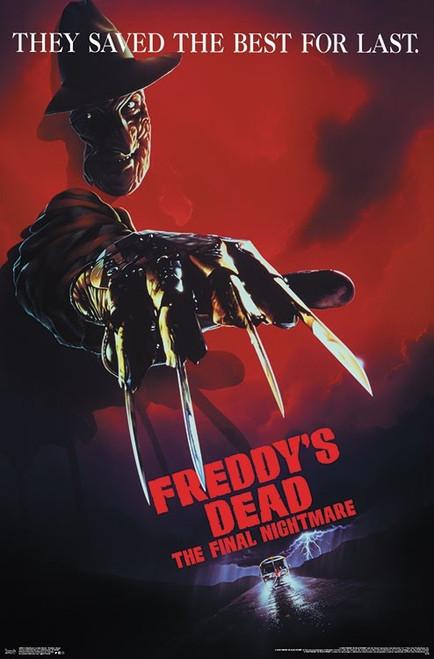 "A Nightmare on Elm Street - Freddy's Dead Poster - 22.375"" x 34"""