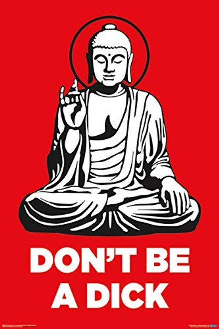 Don't Be a Dick Poster (24x36)
